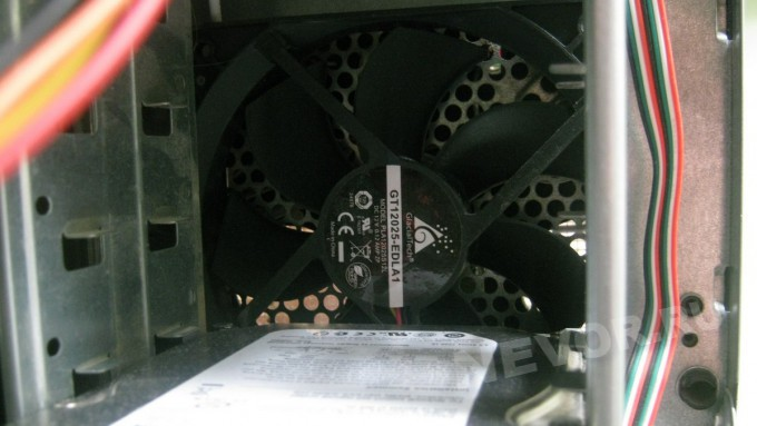 установка вентилятора в корпус